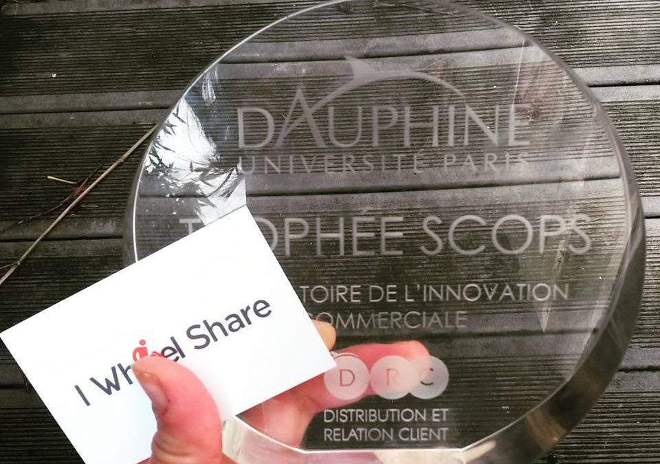Trophée SCOPS décerné à I Wheel Share