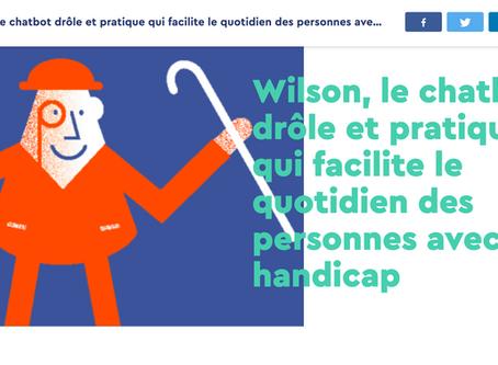 Wilson, le chatbot drôle et pratique qui facilite le quotidien des personnes avec un handicap