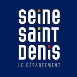 Logo Département Seine Saint Denis bleu