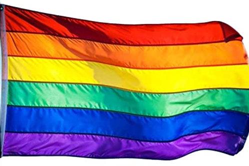 Traditional Rainbow Pride Flag