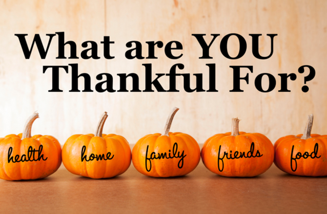 So Thankful for Thanksgiving!
