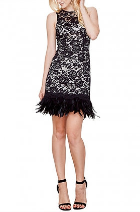 Cocktail Feather Dress