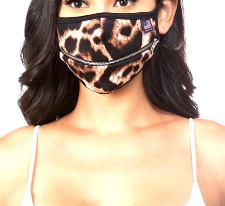 Deserve Animal Print Mask