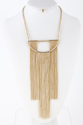 H & D Gold Fall Necklace