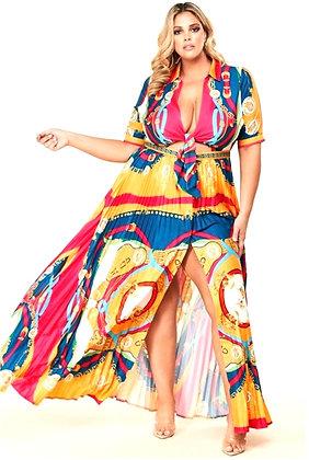 Rosa Art Class Maxi Dress