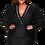 Thumbnail: Erin Rhinestone-Encrusted Beads Black Dress