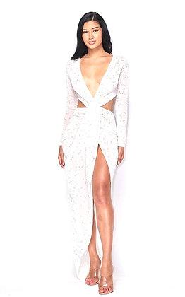 Mamasita White Maxi Dress