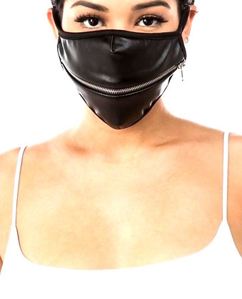 Willa Leather Face Mask