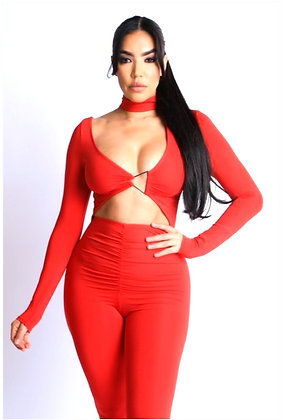 Calianna Ring Front Jumpsuit
