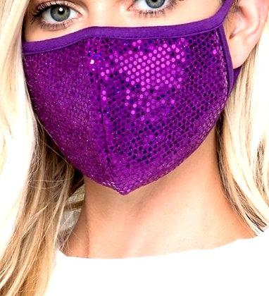 Tola Disco Purple Mask