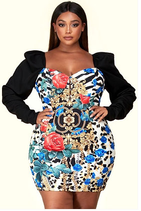 Glam Wife BodyCon Mini Dress