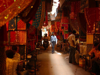 Where to shop in Jaipur : visit the bazaars of the old town!