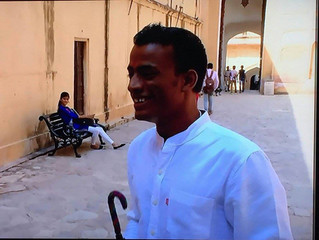 """BBC show """"The Real Marigold Hotel"""" starring Cyclin'Jaipur is on air!"""