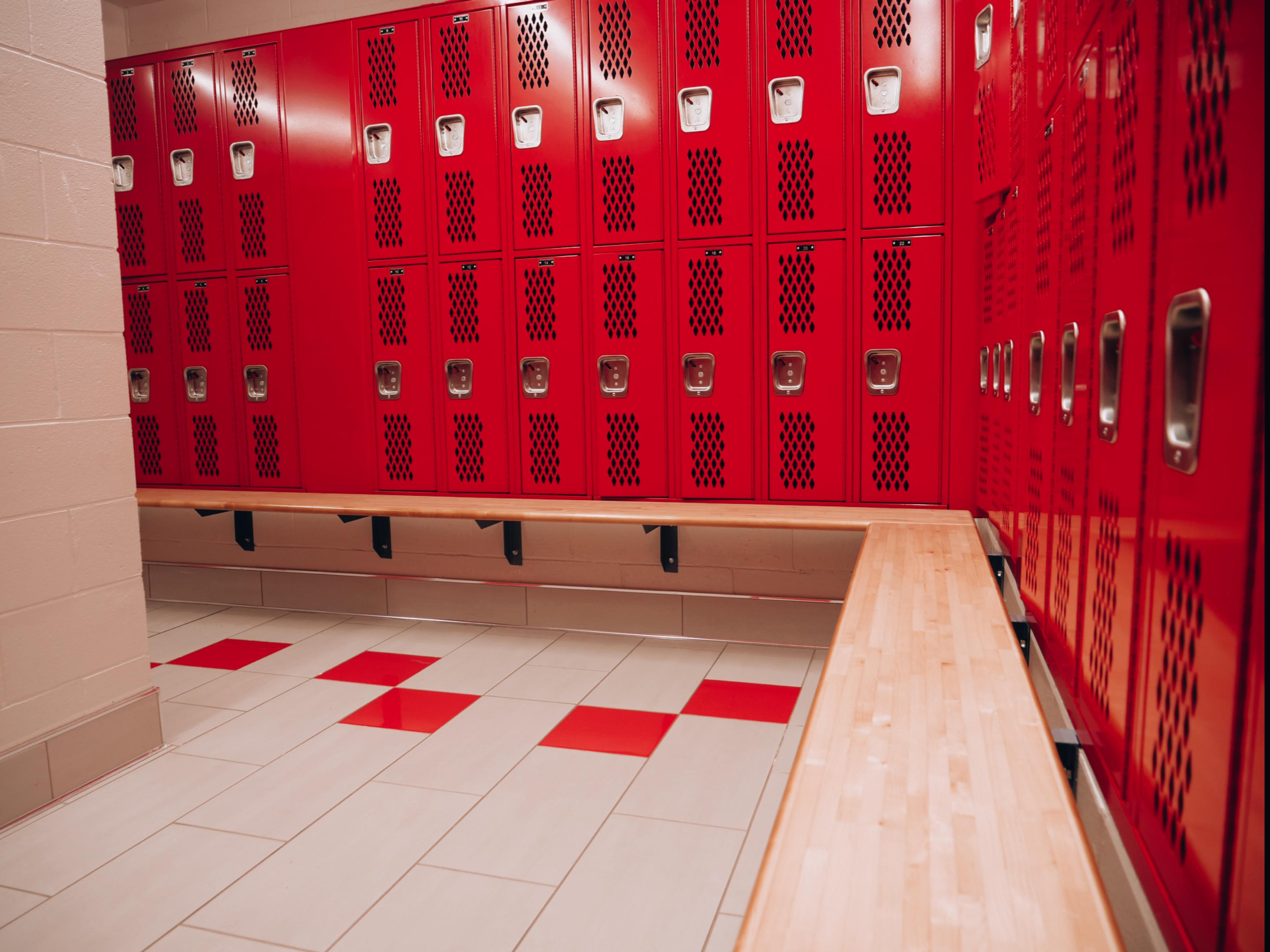 Brunswick Locker rooms