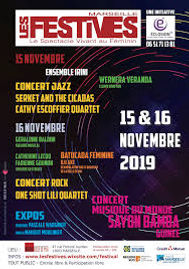 Affiche 2019 Les Festives Eclosion13 Marseille