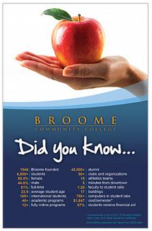 SUNY Broome Postcard Campaign