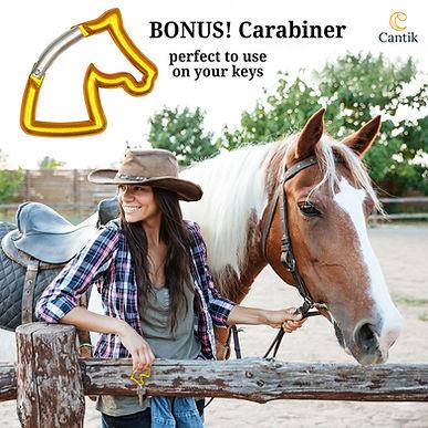 Bonus Horse Head Carabiner
