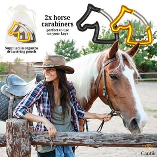 Handy horse head carabiners