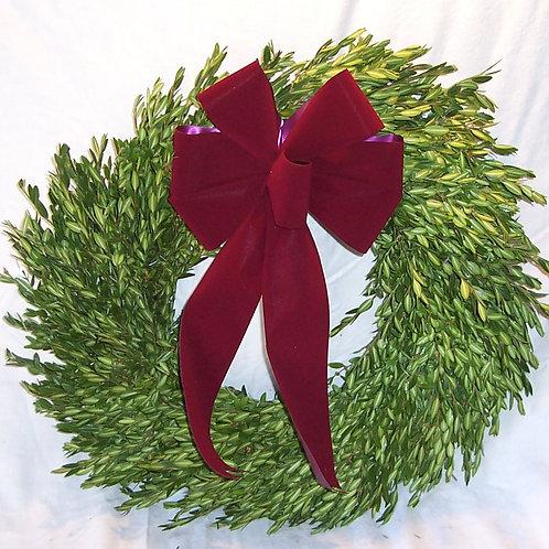 Fresh Boxwood Wreath