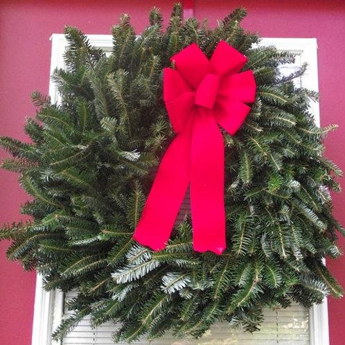 Fresh Mixed Frasier Fir Wreath
