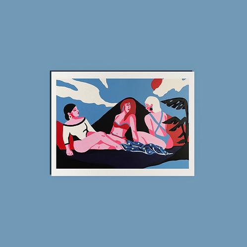 Blue Summer (Print)