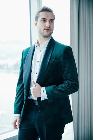 Velvet Luxe Line Jacket