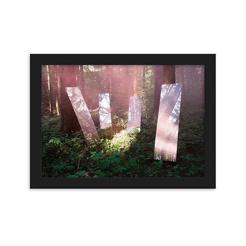 Framed Art Poster 'Home'