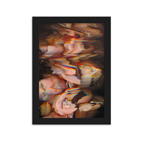 Framed Art Poster 'Heimreise'