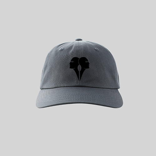 Cap - Curved (dark grey) - One Size