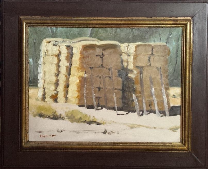 Haystacks in Sanpete County, Utah
