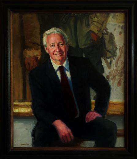 Portrait of Vern G. Swanson