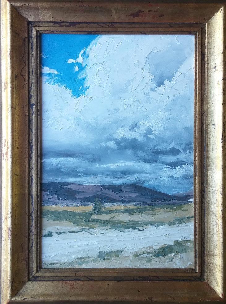 Summer clouds in Sanpete County, Utah