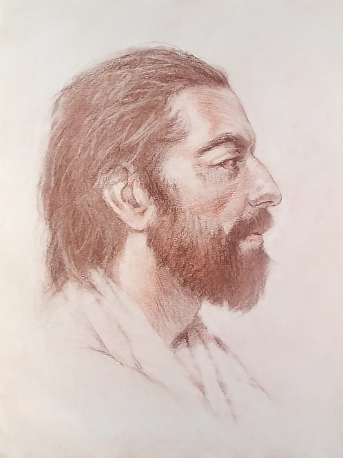 Drawing of Jesus, 1