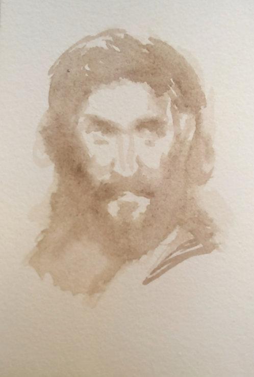 Sketch of Jesus, 2