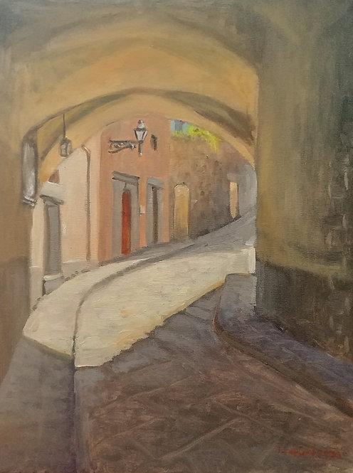 Via Costa dei Magnoli in Florence