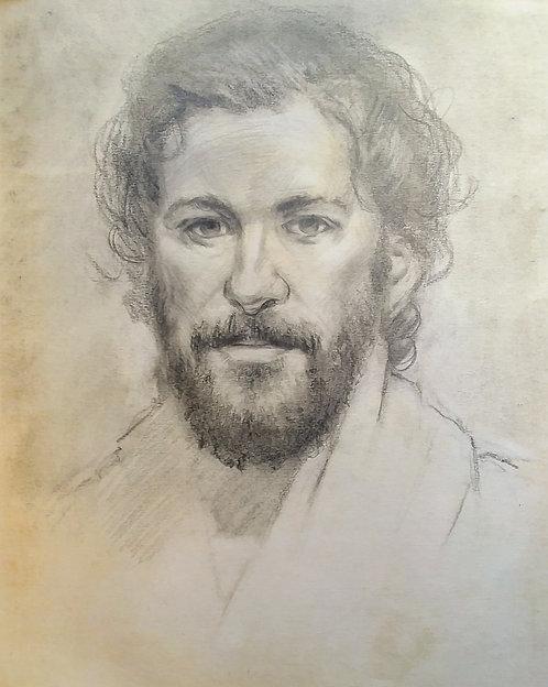 Drawing of Jesus, 2