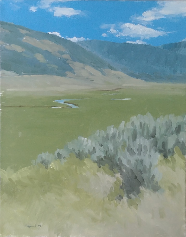 Flat Creek near Jackson Hole, Wyoming