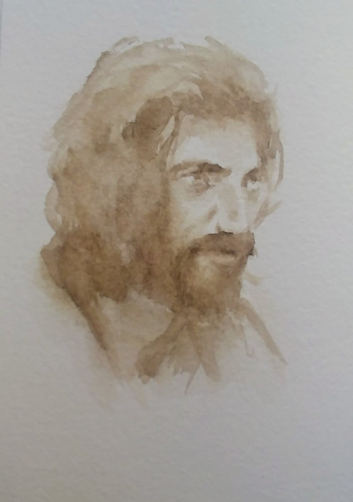 Sketch of Jesus, 5