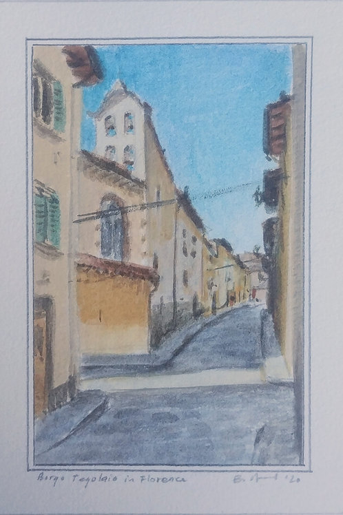 Borgo Tegolaio in Florence