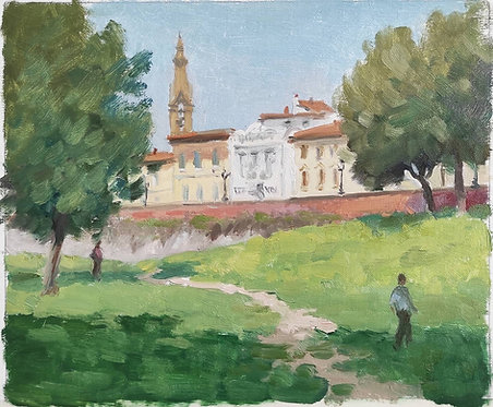 View from Pescaia di San Niccolo, Florence