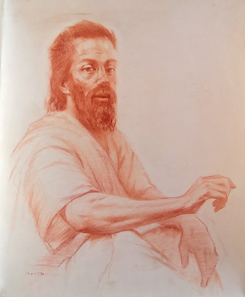 Drawing of Jesus, 3