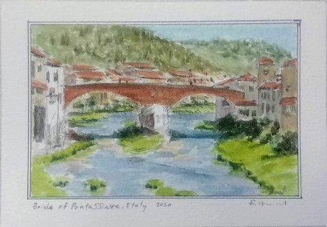 Bridge of Pontassieve, Italy
