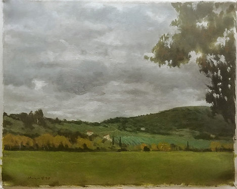Hillside in Rosano, Italy