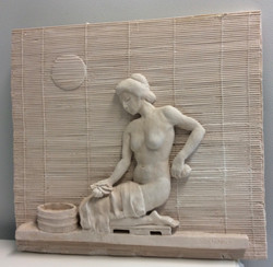 The Bath, aqua resin