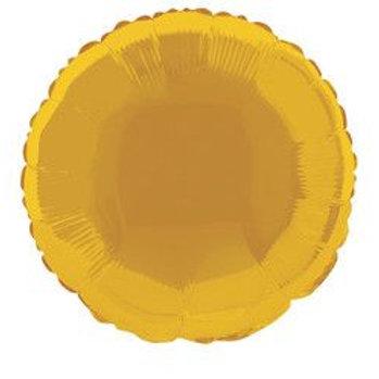 "Balloon Foil 18"" Round Gold"