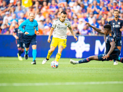Columbus Steals A Point On The Road At Cincinnati