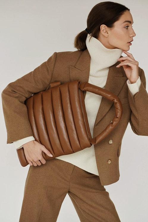 Pillow bag / color hazelnut