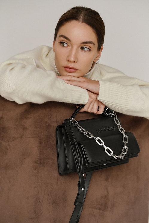 Accordion bag / color black