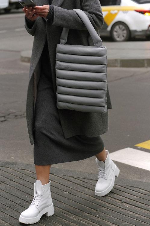Pillow bag / color light gray