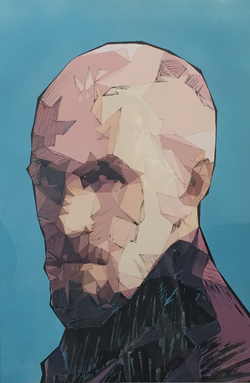 Gustave, 50*65, Glad